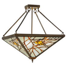 Craftsman Mission Close To Ceiling Light Fixtures Lamps