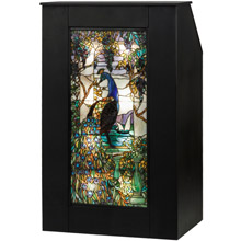 Meyda 152407 Peacock Lighted Podium
