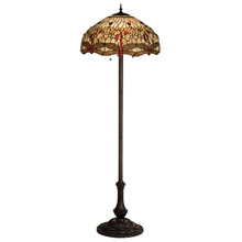 Tiffany floor lamps lamps beautiful meyda 17473 tiffany hanginghead dragonfly floor lamp mozeypictures Images