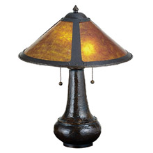 Craftsmanmission table lamps lamps beautiful meyda 22210 dirk van erp mica table lamp aloadofball Image collections