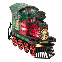 "Meyda 222396 Locomotive 10.5"" Long Lighted Sculpture"