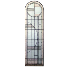 Meyda 22869 Deco Arched Right Sided Stained Glass Window