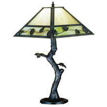 Meyda 24246 Leaves and Vines Table Lamp
