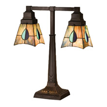 Meyda 24284 Mackintosh Leaf Table Lamp