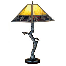 Meyda 24408 Maple Leaf Leaves Table Lamp