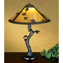 Meyda 26296 Leaves and Vines Table Lamp