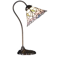 Meyda 26590 Tiffany Daffodil Desk Lamp