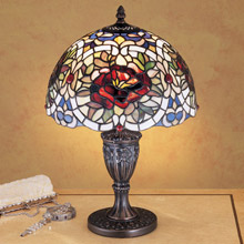 Meyda 26675 Tiffany Renaissance Rose Accent Lamp