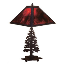 Meyda 26724 Pine Tree Table Lamp
