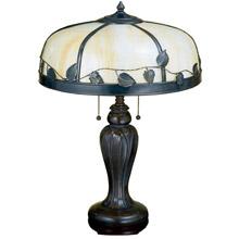 Meyda 26904 Arts Crafts Maple Leaf Table Lamp