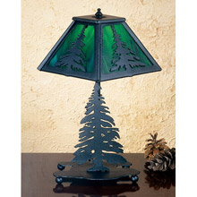 Meyda 27107 Pine Tree Table Lamp