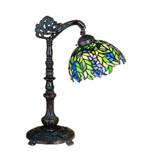 Meyda 27167 Tiffany Honey Locust Desk Lamp