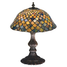 Meyda 27170 Tiffany Fishscale Table Lamp