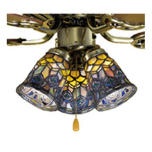 Tiffany Ceiling Fans And Fanlight Kits Lamps Beautiful