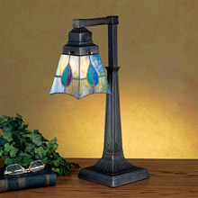 Meyda 27637 Mackintosh Leaf Desk Lamp
