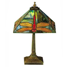 Meyda 28396 Prairie Dragonfly Accent Lamp