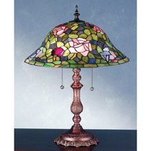 Meyda 28406 Tiffany Rosebush Table Lamp