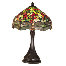 Meyda 28460 Tiffany Hanginghead Dragonfly Accent Lamp