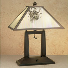 Meyda 28643 Pine Cone Table Lamp