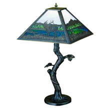Meyda 29537 Lake in Woods Table Lamp