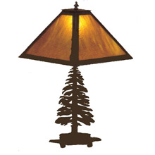 Meyda 29572 Pine Tree Table Lamp