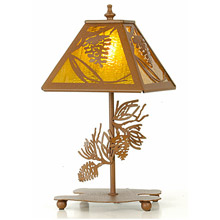 Meyda 30158 Pine Tree Table Lamp