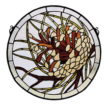 Meyda 30448 Pine Cone Window
