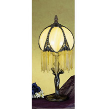 Meyda 30657 Alicia Fringed Mini Lamp