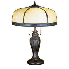 Meyda 31278 Arts & Crafts Dome Table Lamp