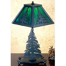 Meyda 31401 Pine Tree Table Lamp