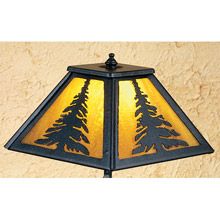 Meyda 31404 Tall Pines Accent Lamp