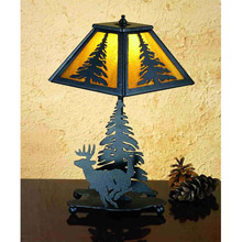 Meyda 31405 Lone Deer Accent Lamp
