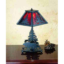 Meyda 32478 Lone Moose Accent Lamp