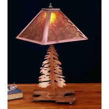 Meyda 32506 Tall Pines Table Lamp