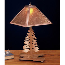 Meyda 32515 Pine Tree Table Lamp