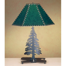 Meyda 38884 Tall Pines Table Lamp
