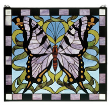 Meyda 46464 Tiffany Butterfly Window