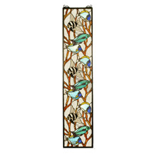 Meyda 50840 Fish Stained Glass Window