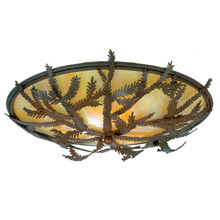 Meyda 52390 Pine Branch Flush Mount Ceiling Fixture