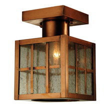 Meyda 64945 Hudson Welcome Lantern Flush Mount Ceiling Fixture