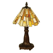 Meyda 69762 Tiffany Jadestone Delta Mini Lamp