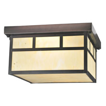 Meyda 70040 Hyde Park Double Bar Flush Mount Ceiling Fixture