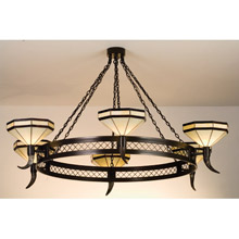 Meyda 72557 Top Ridge Six Light Chandelier