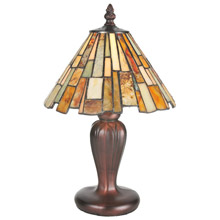 Meyda 72580 Tiffany Jadestone Delta Mini Lamp