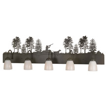 Meyda 81913 Quail Hunter With Dog Vanity Light
