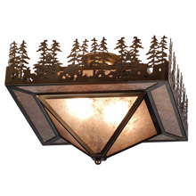 Meyda 82111 Pine Lake Flush Mount Ceiling Fixture