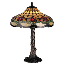Meyda 82319 Tiffany Tulip Table Lamp
