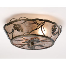 Meyda 82538 Whispering Pines Flush Mount Ceiling Fixture