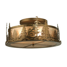 Meyda 98918 Mountain Pine Flush Mount Ceiling Fixture