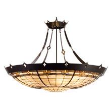Meyda 98957 Tiffany Fleur-De-Lis Inverted Pendant